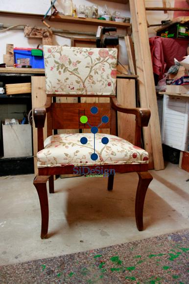 SiDeSignPracownia Fotel w tkaninie Haryk.